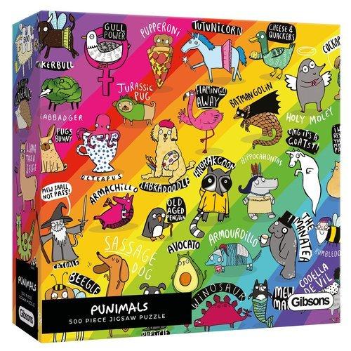 Puzzle punimals 500 piezas