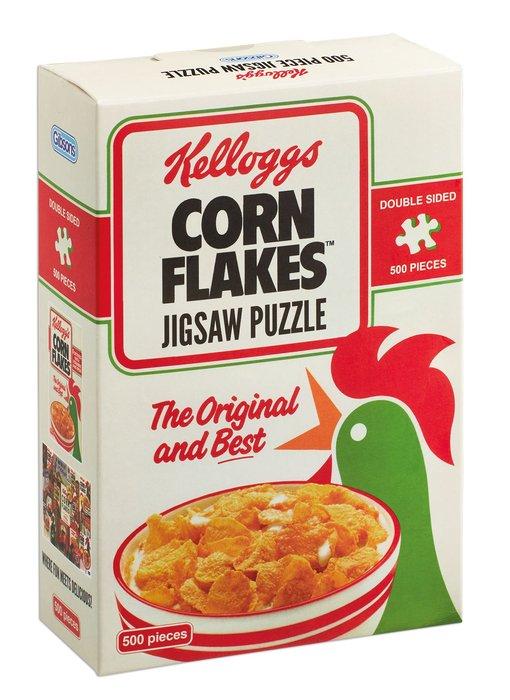 Puzzle kelloggs cornflakes 500 piezas