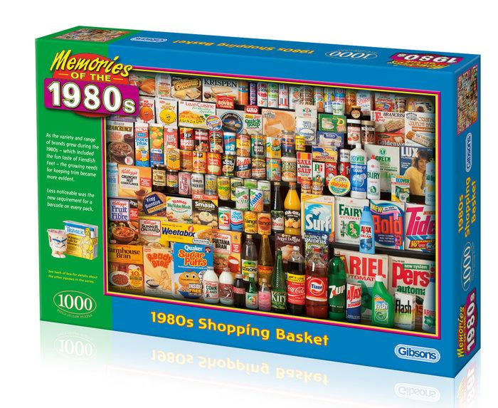 Puzzle 1000 p el carro de la compra aÑos 80