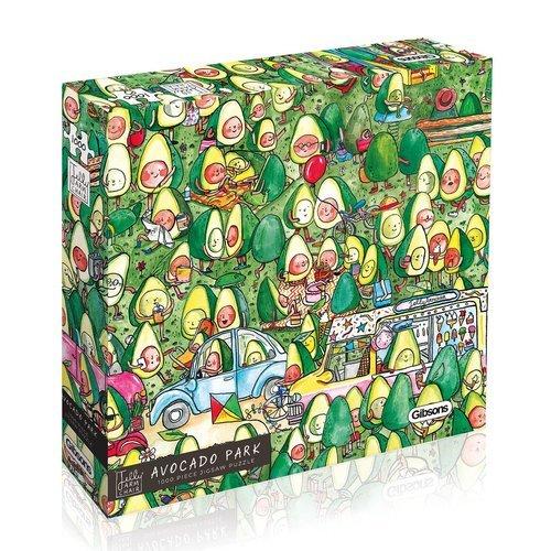 Puzzle parque de aguacates 1000 piezas