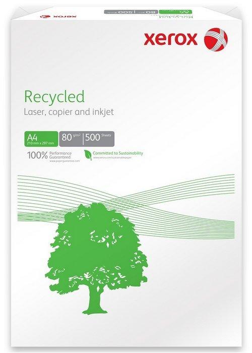 Papel reciclado a4 80grs 500h xerox
