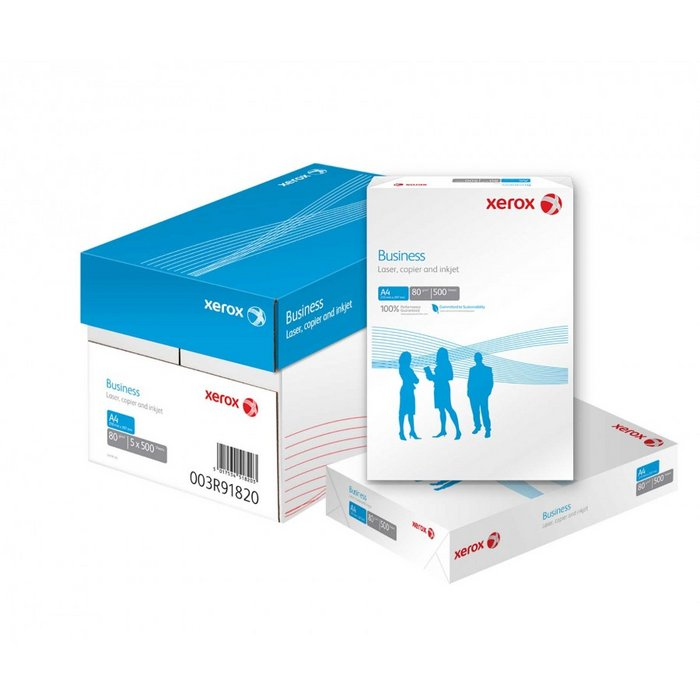 Papel a4 80grs 500h xerox business