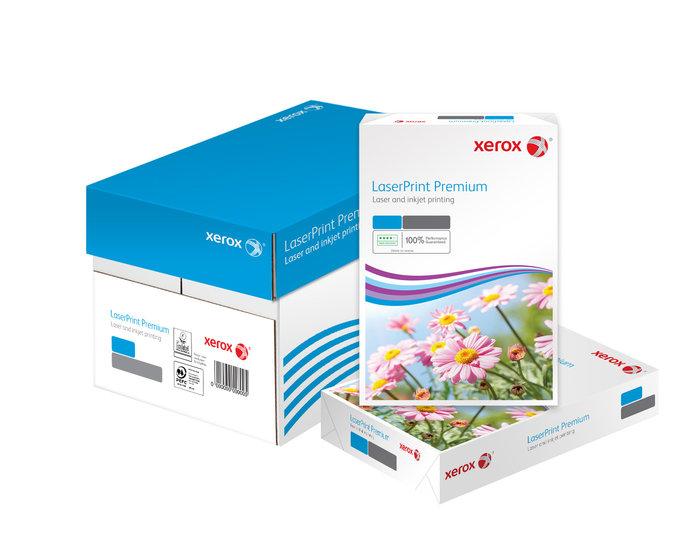 Papel a4 100grs 500h xerox laserprint premium