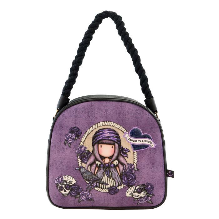 Bolso de mano gorjuss violeta