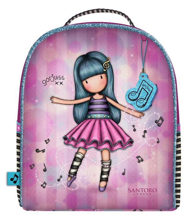 Mini mochila gorjuss rosa