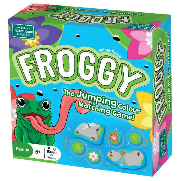 Juego de mesa froggy el juego saltarin