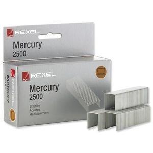 Grapas mercury caja 2500 u