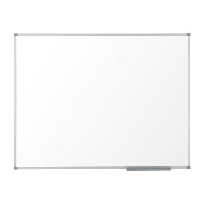 Pizarra nobo classic magnetica lacada 600x450 blanco