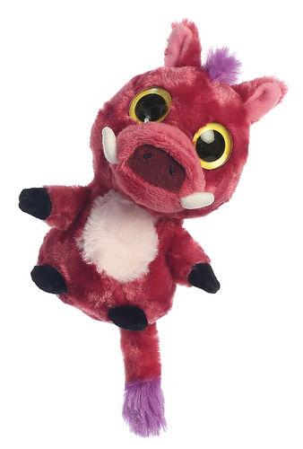 Peluche yoohoo 20cm ojos brillantes warthog