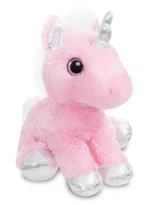 Peluche st unicornio rosa 31cm