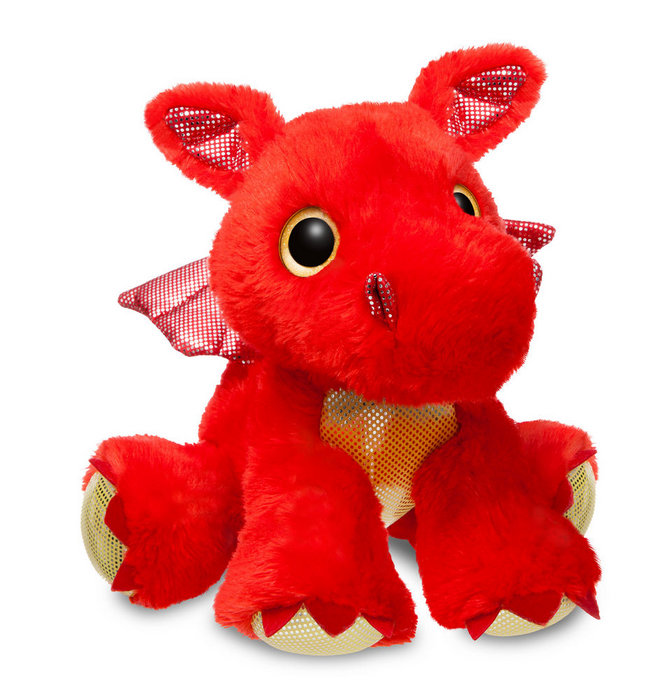 Peluche st dragon rojo 31cm