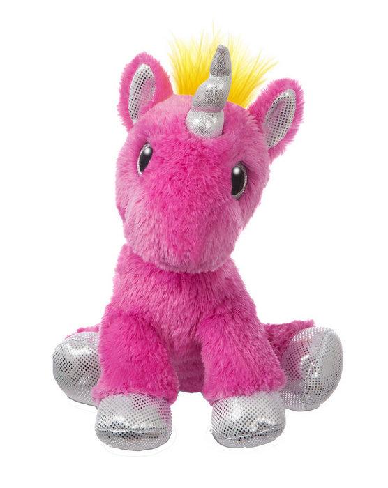 Peluche st unicornio rosa fuerte 31cm