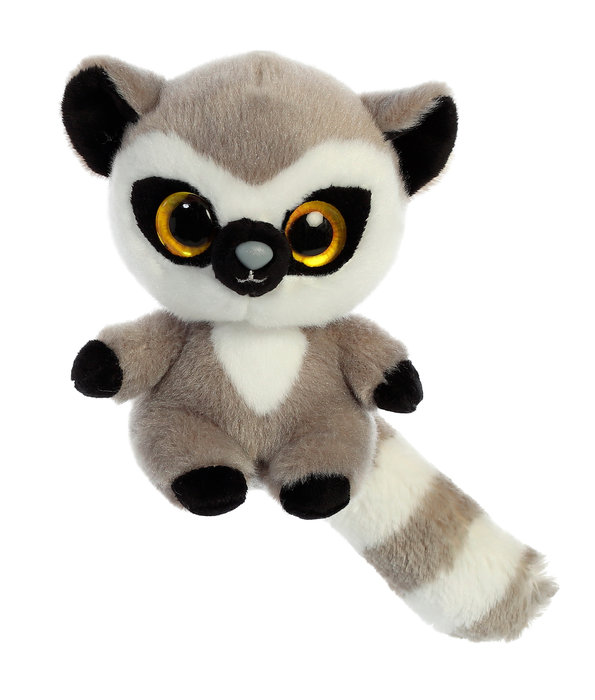 Peluche lemmee lemur 13 cm