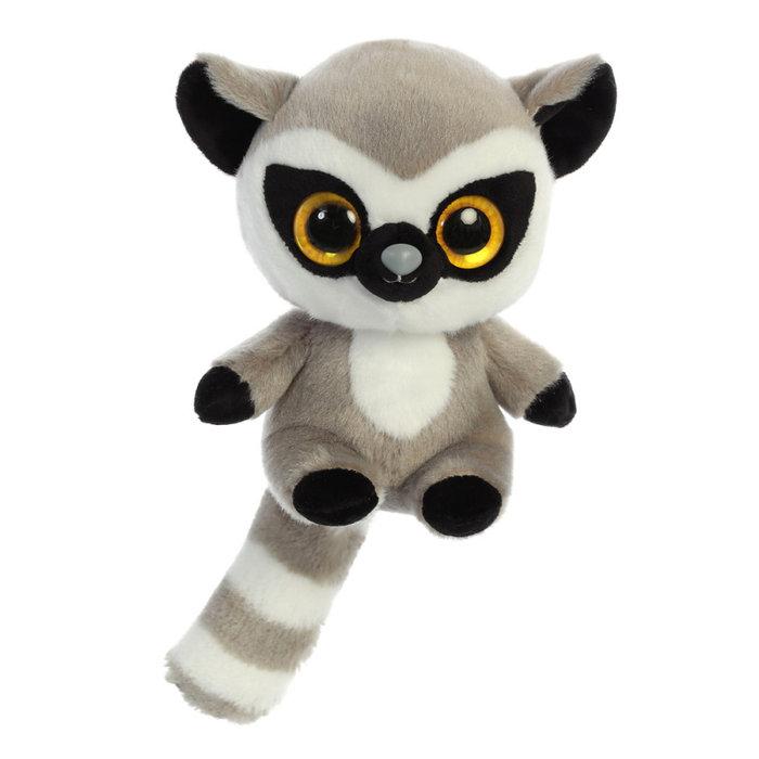 Peluche lemmee lemur 20 cm