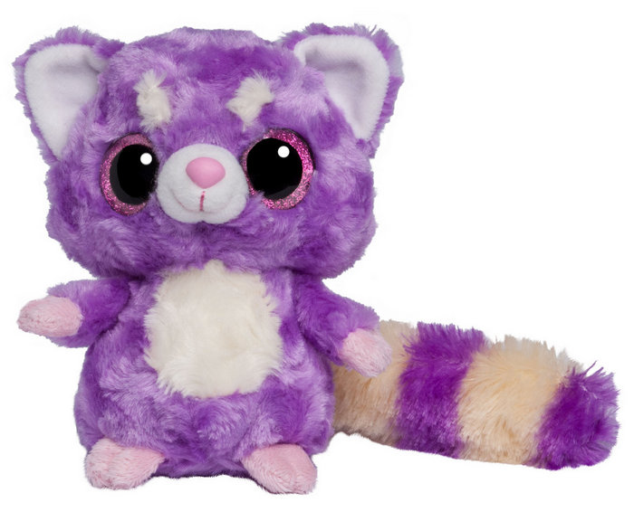 Peluche yoohoo & friends lesser panda ob 20 cm