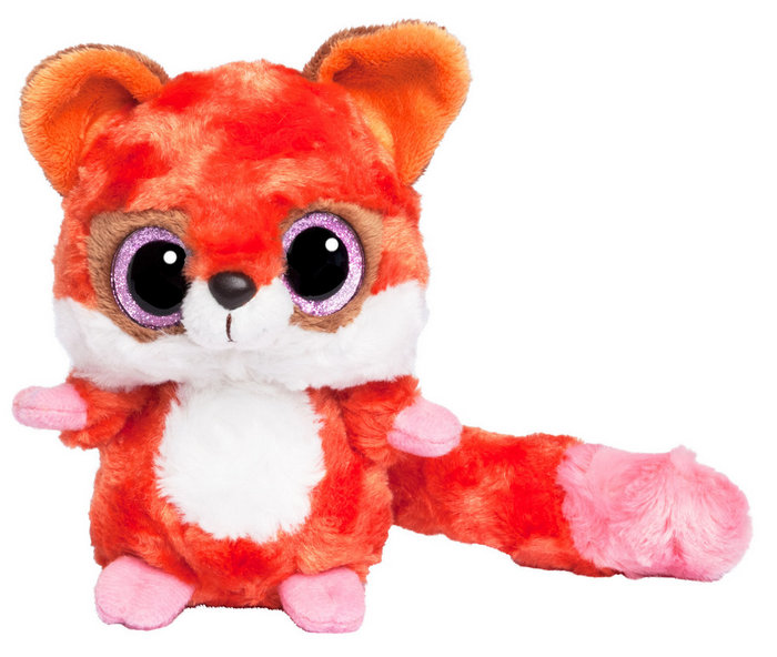 Peluche yoohoo & friends red fox ob 20 cm