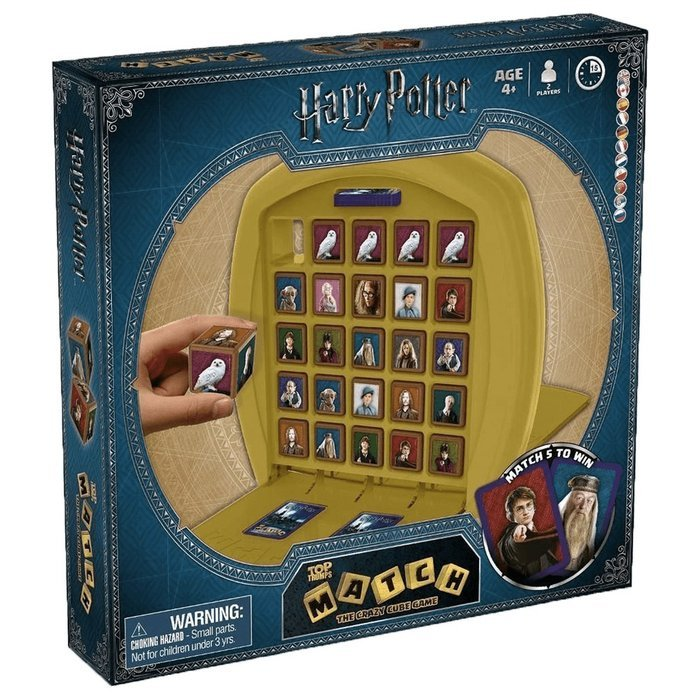 Juego top trumps match harry potter