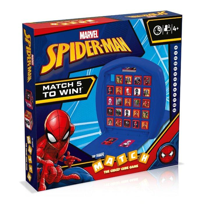 Juego tt match spiderman