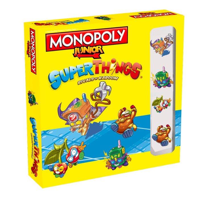 Juego monopoly junior superthings