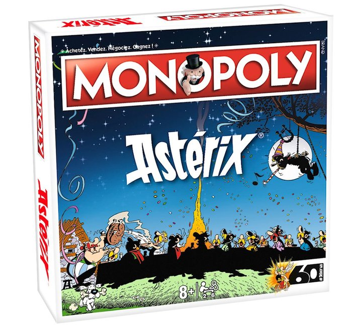 Juego monopoly asterix