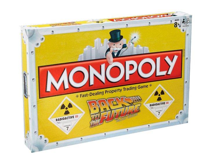 Juego monopoly regreso al futuro