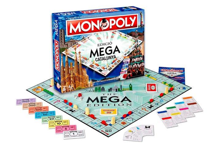 Juego monopoly mega cataluÑa