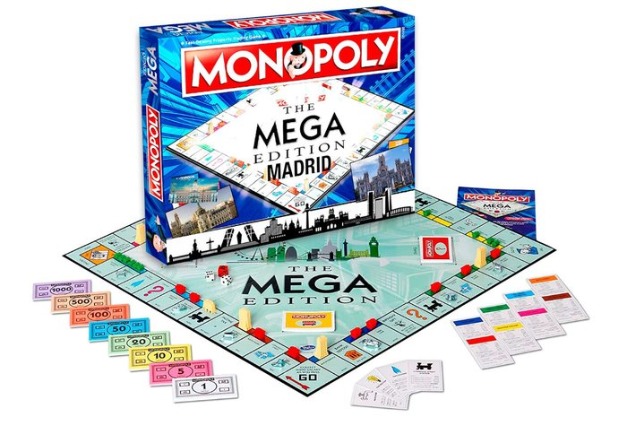 Juego monopoly mega madrid