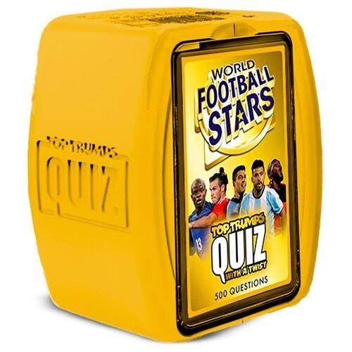 Juego top trumps quizz football stars