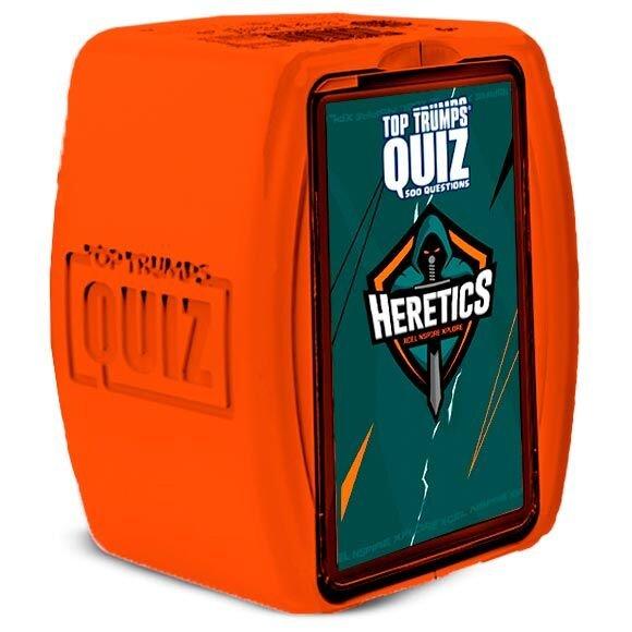 Juego top trumps quizz team heretics