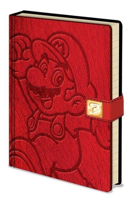 Cuaderno a5 premium nintendo super mario