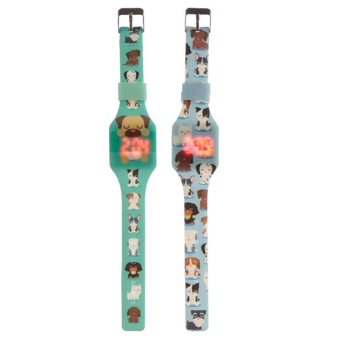 Reloj digital silicona perro dog