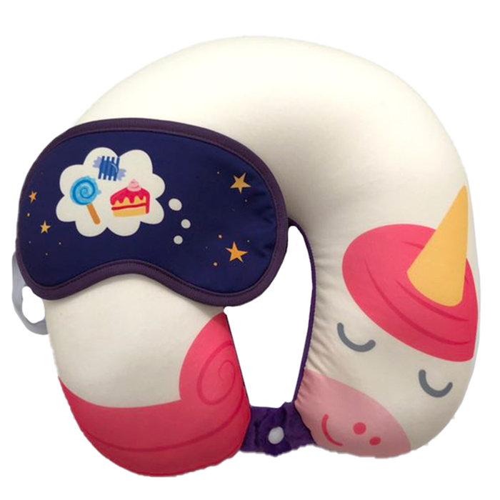 Almohada viaje unicornio