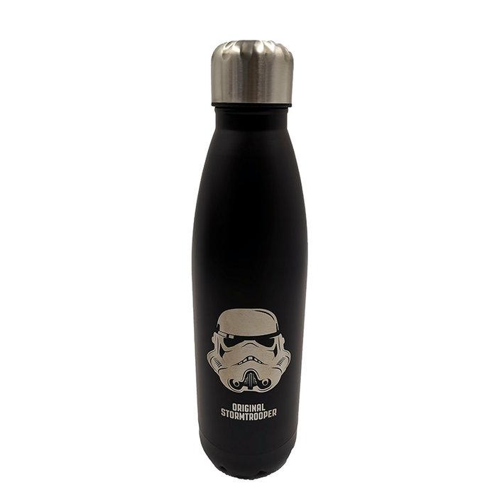 Botella termica acero inoxidable star wars negra