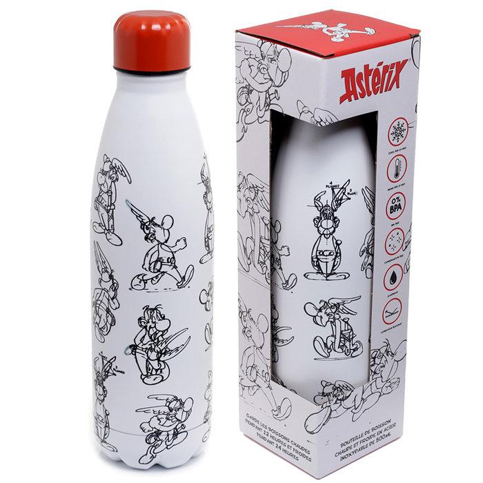 Botella termica acero inoxidable asterix y obelix