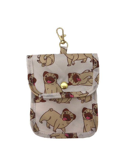 Funda portamascarillas pug carlino