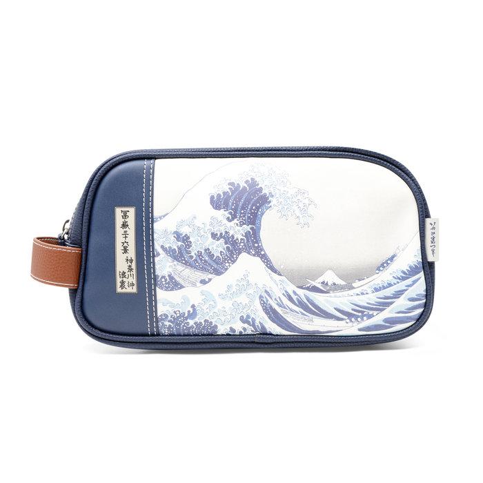 Neceser la gran ola de kanagawa