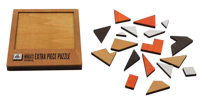 Puzzle mensa extra piece