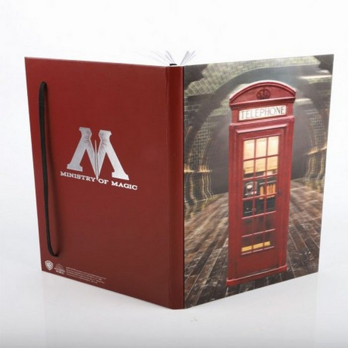 Cuaderno 3d ministry of magic harry potter