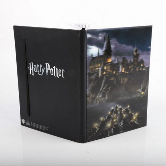 Cuaderno 3d castillo de hogwards harry potter
