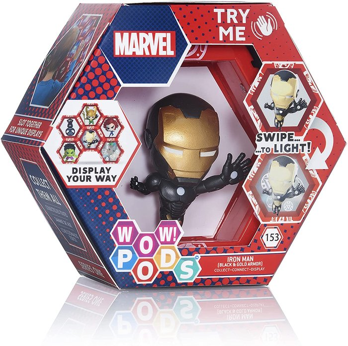 Wow! pods marvel- iron man gold metallic