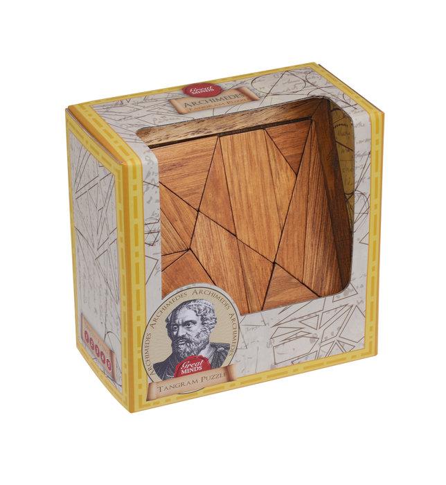 Rompecabezas tangram arquimedes