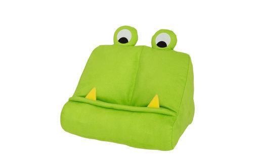 Atril de tela infantil bookmonster verde