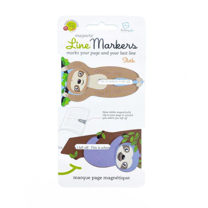 Marcapaginas linemarkers sloth