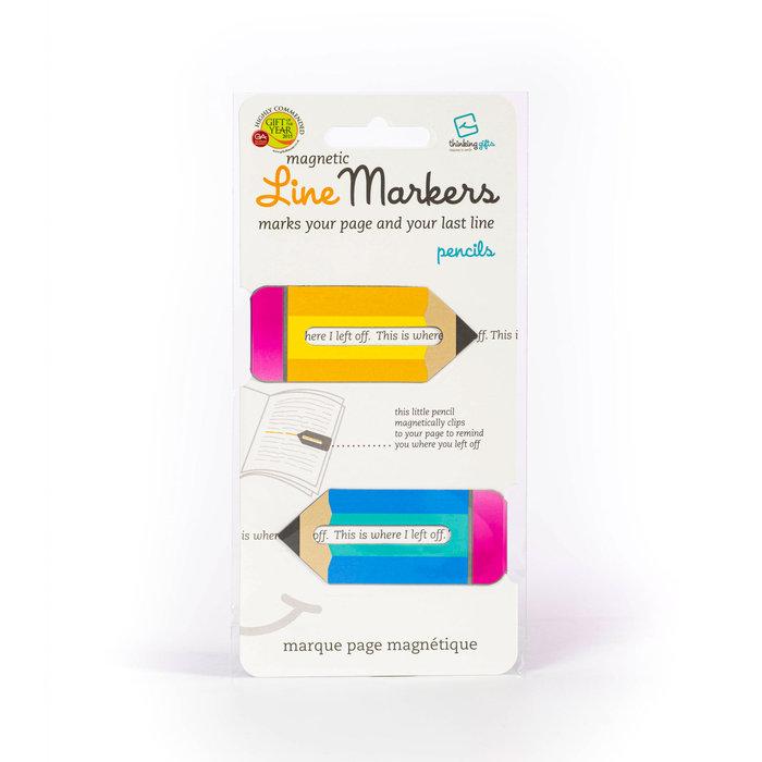 Marcapaginas linemarkers pencils