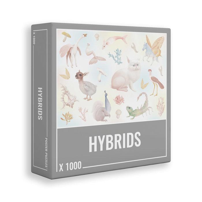Puzzle hybrids 1000 pz