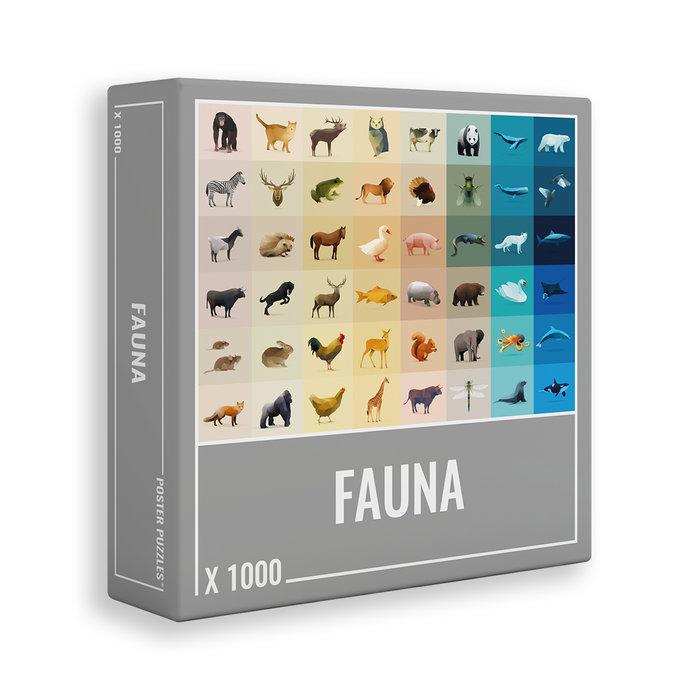 Puzzle fauna 1000 pz