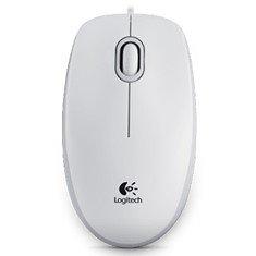 Raton optico usb 800dpi b100 blanco logitech