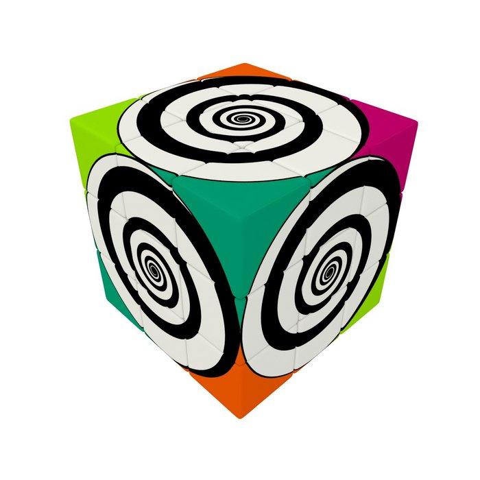 Juego v cube 3 spirals