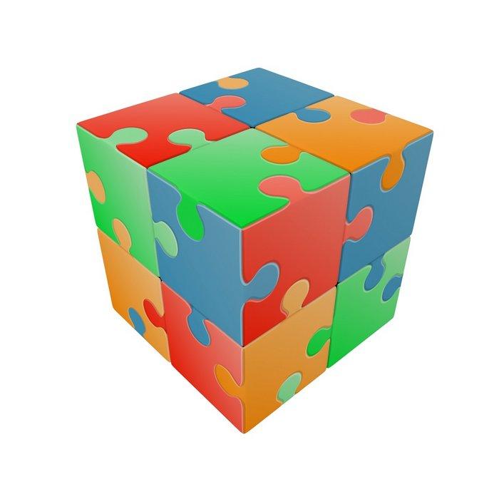 Juego v-cube puzzle