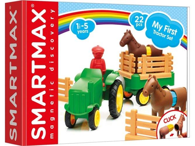 Juego educativo smart max my first tractor set